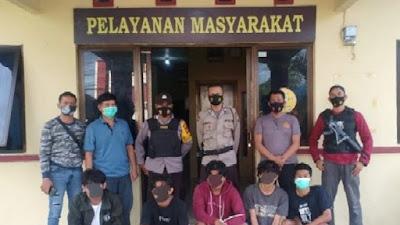 5 Pelaku Pengeroyokan di Palakka Diringkus Polisi