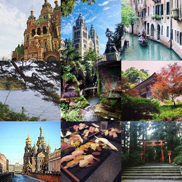 bestnine, warmcheaptrips, instagra, san Pietroburgo, Londra, venezia, Giappone, Matsushima, Sushi,Yamadera, Grotte del Caglieron, travelblog, compleanno blog
