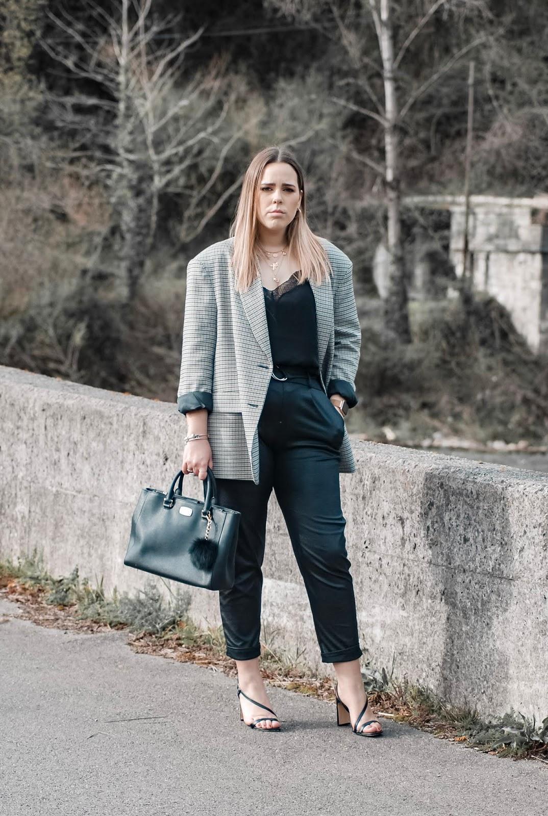Outfit maxi blazer