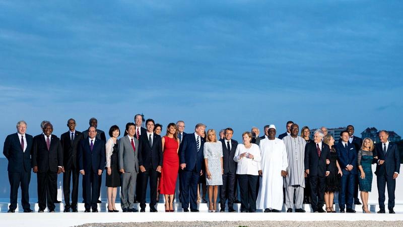Σύνοδος G7: Ολοκληρώνεται με συνομιλίες για το κλίμα και την ψηφιακή οικονομία