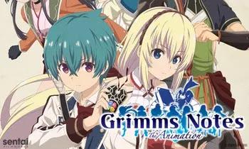 Grimms Notes جميع حلقات انمي Grimms Notes The Animation مترجمة و مجمعة مشاهدة و تحميل مباشر