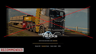 blank loading screen for ets 2 & ats