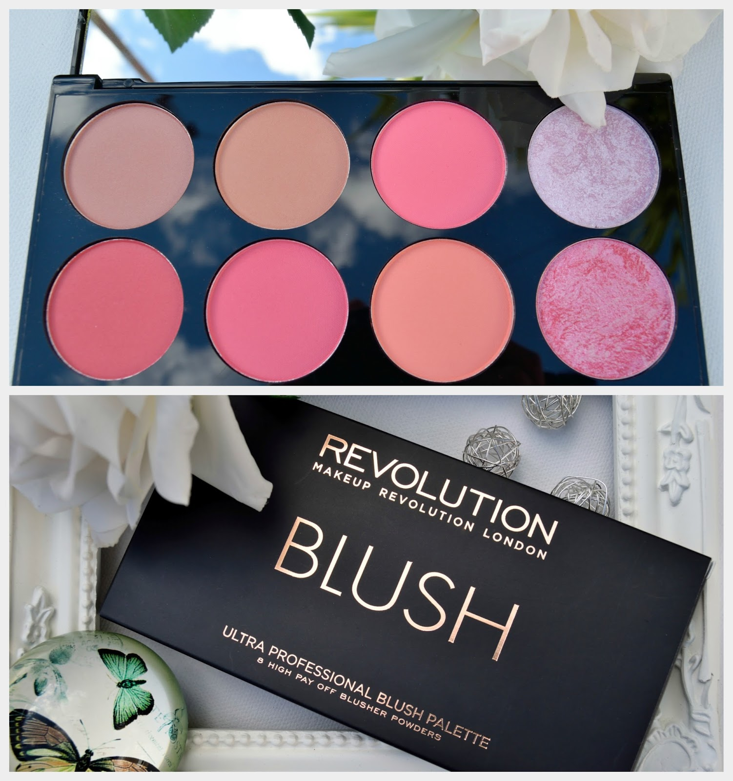 Makeup Revolution London Ultra Blush Palette Sugar and Spice