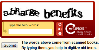 The Standard Distorted Word CAPTCHA