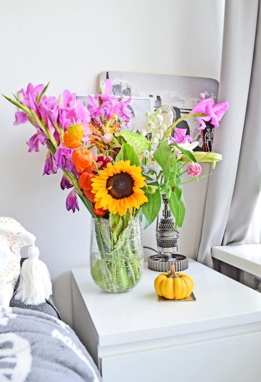 Kwiaty na jesień