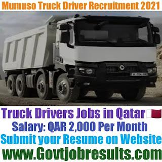 Mumuso Truck Driver Recruitment 2021-22
