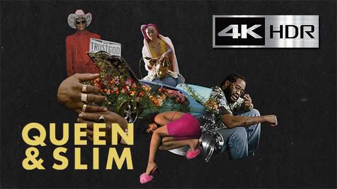 Queen y Slim: Los Fugitivos (2019) 4K UHD [HDR] Latino-Ingles