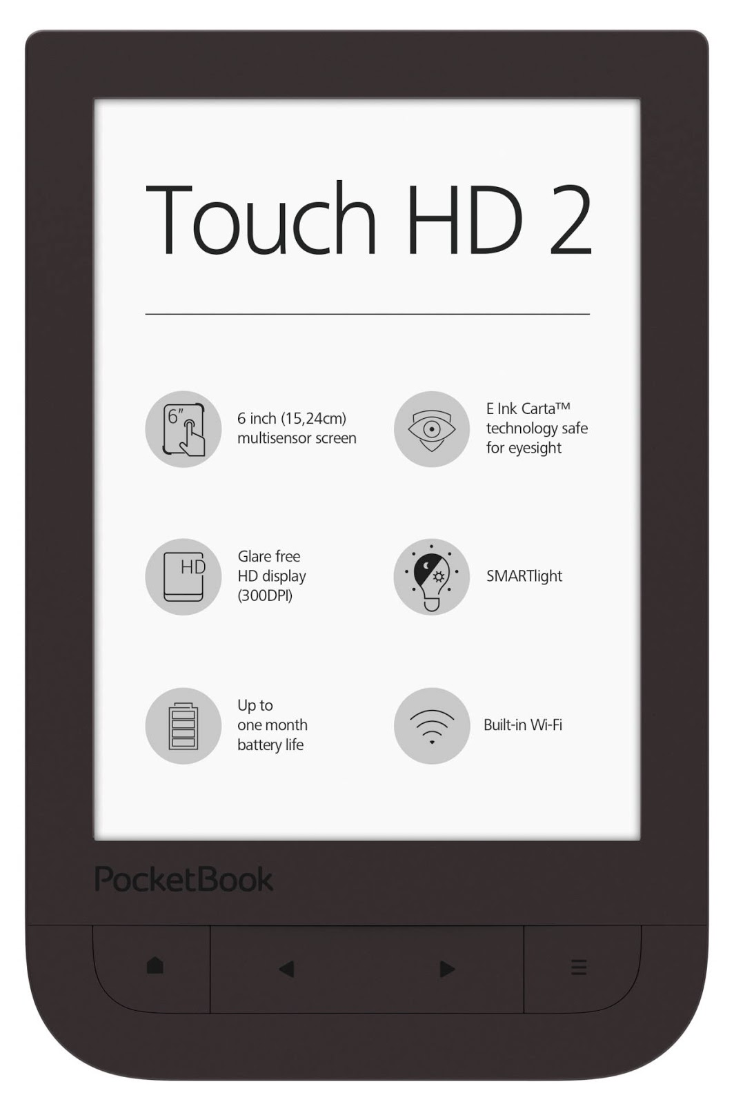 czytnik e-booków PocketBook Touch HD 2