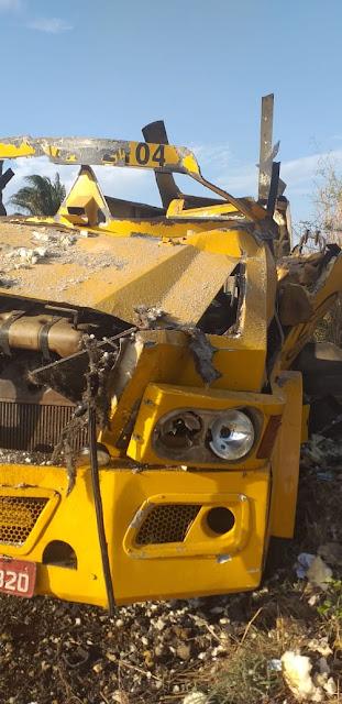 Peritoró-MA: Bandidos explodem carro forte no Povoado km 29