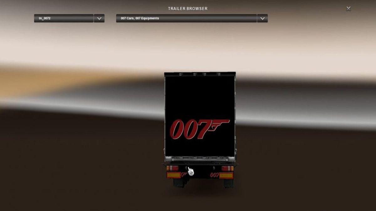 James Bond (007) Trailer Pack