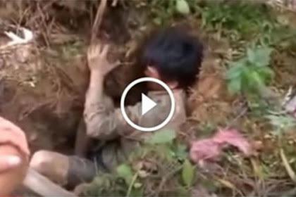 Coba Lihat Apa yang Didapat Pria ini di Dalam Tanah, Pasti Kamu Gak Menyangka Nyangkanya