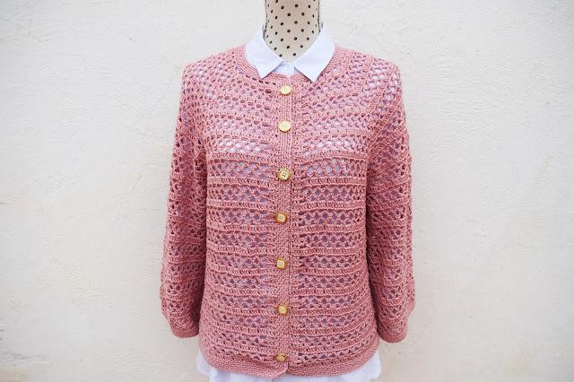 1 - Crochet Imagenes Chaqueta primavera a crochet y ganchillo por Majovel Crochet