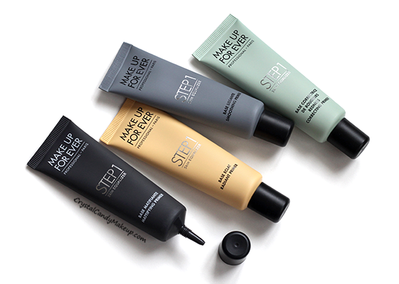 Make Up For Ever Step 1 Skin Equalizer Primers Review Photos Swatches