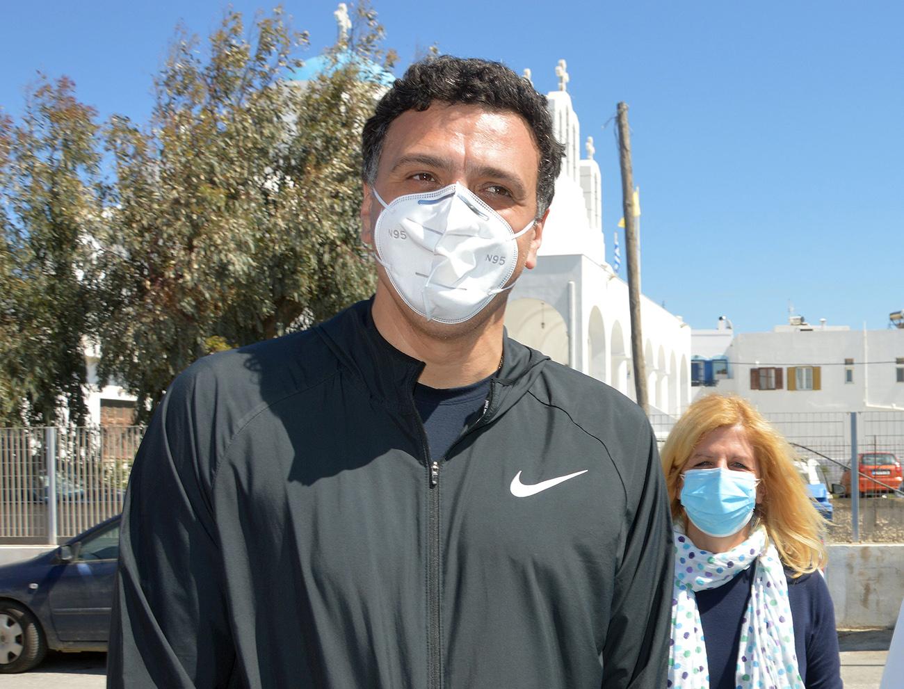 Βασίλης Κικίλιας για μάσκες: Δεν μπορώ να προβλέψω τι θα γίνει αύριο – μεθαύριο