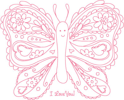 Amy j delightful blog a sweet feature a v day printable Coloring book for 6 year old