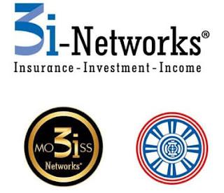 3i-Networks adalah suatu sistem pemasaran asuransi jiwa melalui jaringan keagenanan 3i Networks yang mengajak Nasabah selain mendapat perlindungan (proteksi) dan Investasi, juga penghasilan sebagai agen asuransi jiwa (mengikuti peraturan keagenan yang berlaku) atau sebagai pemberi referensi calon nasabah potensial. Kepanjangan dari 3i-Networks yaitu :