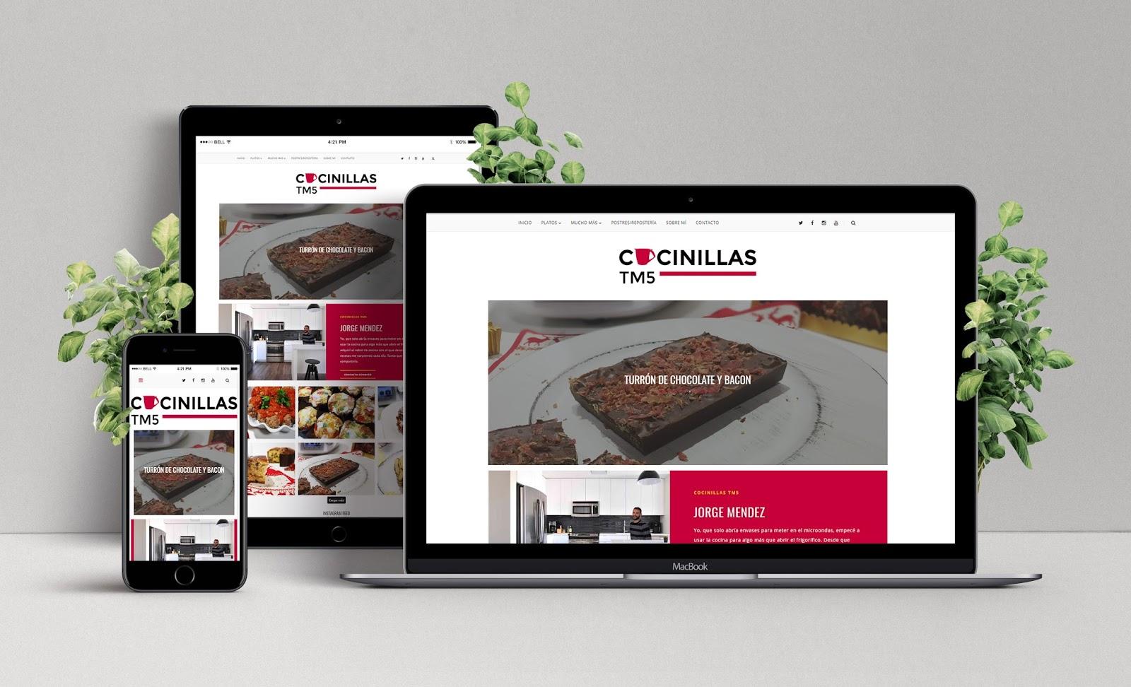 Diseño Web de CocinillasTM5