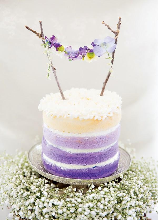 Adornos para tartas fáciles