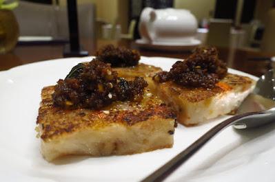 Xin Cuisine, radish cake