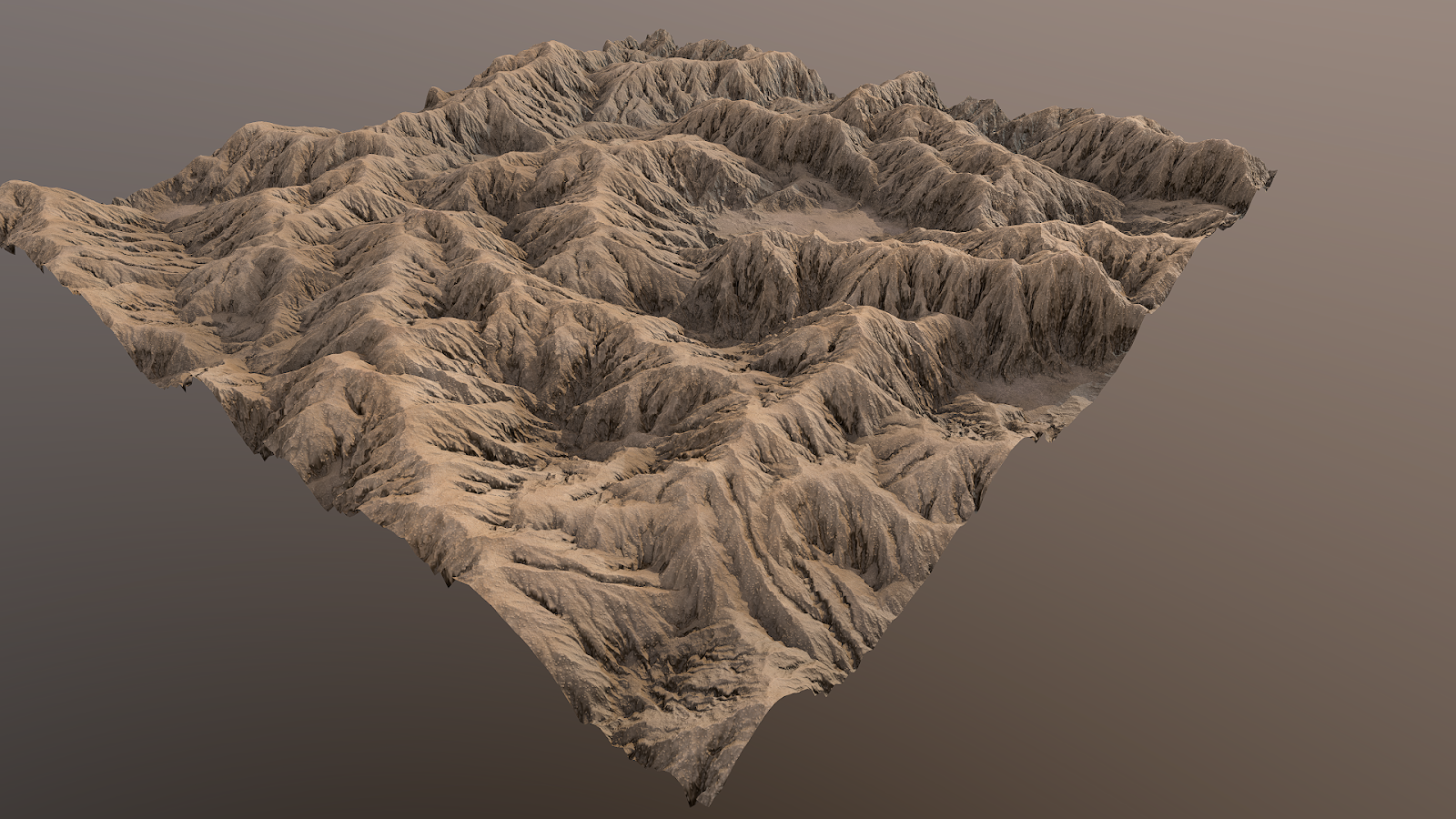 Desert mountains material PBR tessellation unreal4 unity monochrome light setup Igor Novik 3d artist