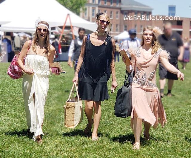 flapper style fashion