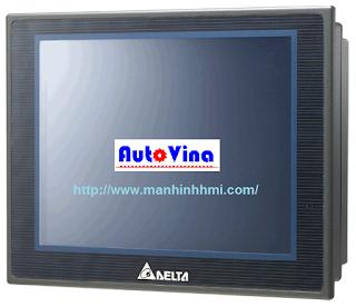 Màn hình cảm ứng HMI Delta DOP-B07S515, hiển thị độ phân giải cao, bán màn hình HMI Detla 7 inch, tài liệu, phần mềm lập trình HMI Delta