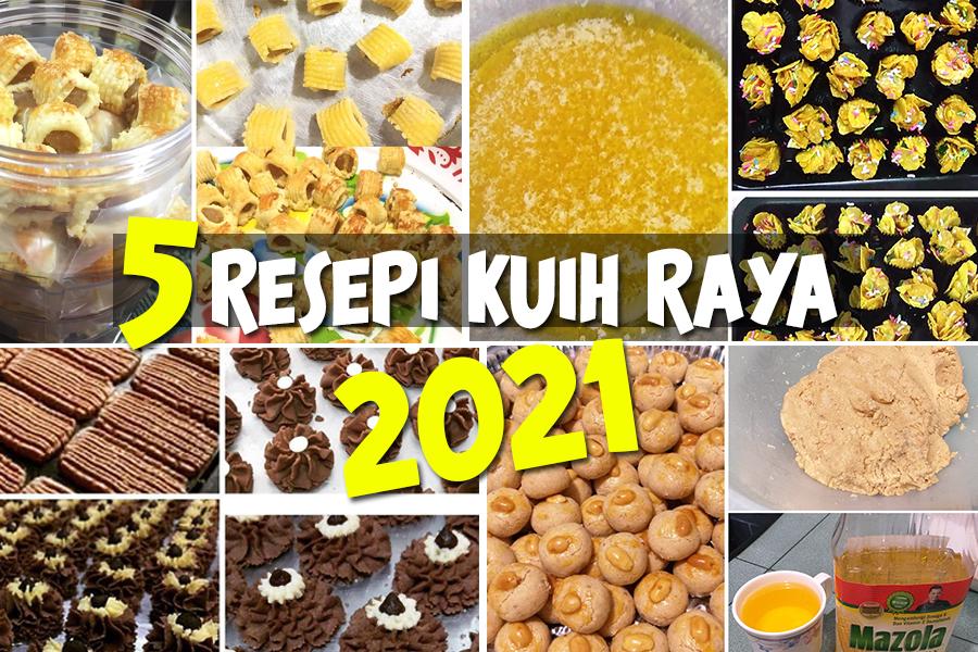 kuih raya 2021, kuih raya senang nak buat, resepi kuih raya, resepi biskut raya 2021, biskut raya paling mudah nak buat, cornflakes madu, tart nenas, cookies, biskut mazola