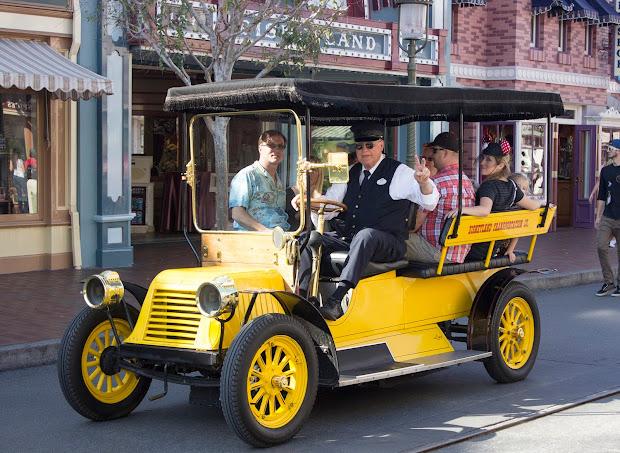 Main Street Vehicles Disneyland