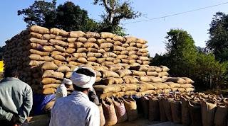 2106 किसानों से खरीदी गई 47 हजार क्विंटल धान