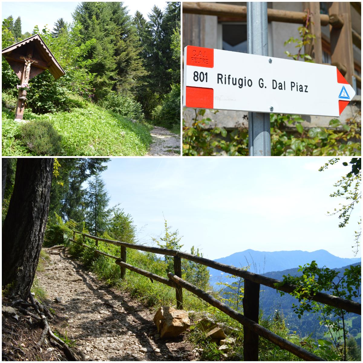 Alta Via 2 delle Dolomiti da Feltre: ecco il Park 2 Trek