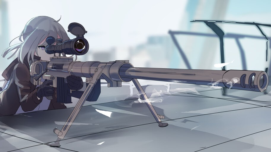 Anime, Girls Frontline, M200, Sniper, Rifle, 4K, #6.1110