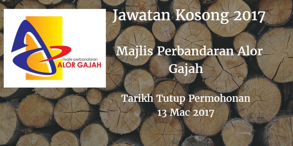 Jawatan Kosong MPAG 13 Mac 2017