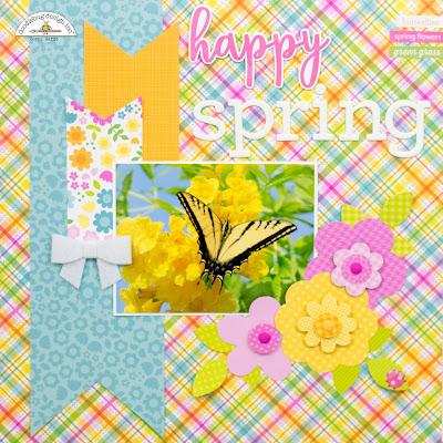Doodlebug Design Inc Blog Spring Garden Collection Happy