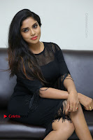 Telugu Actress Karunya Chowdary Latest Stills in Black Short Dress at Edo Prema Lokam Audio Launch .COM 0238.JPG