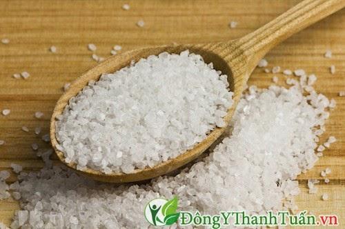 Cách trị bệnh nhiệt miệng bằng muối