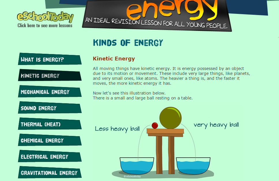 http://www.eschooltoday.com/energy/kinds-of-energy/what-is-kinetic-energy.html