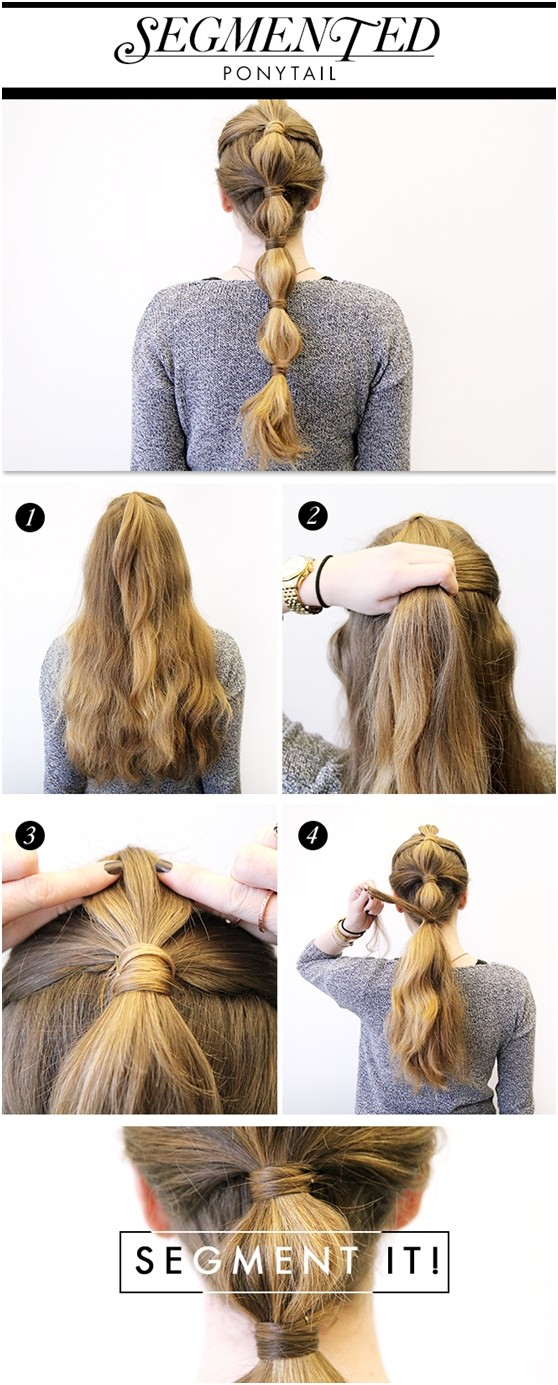 Hairstyles and Women Attire: 5 Cute and Easy Ponytail Hairstyles Tutorials