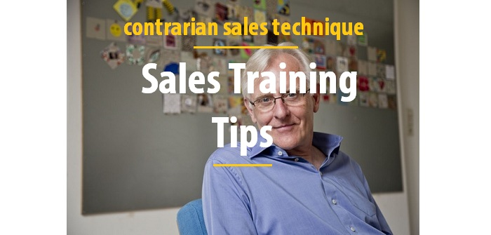 Contrarian sales technique sales training tips