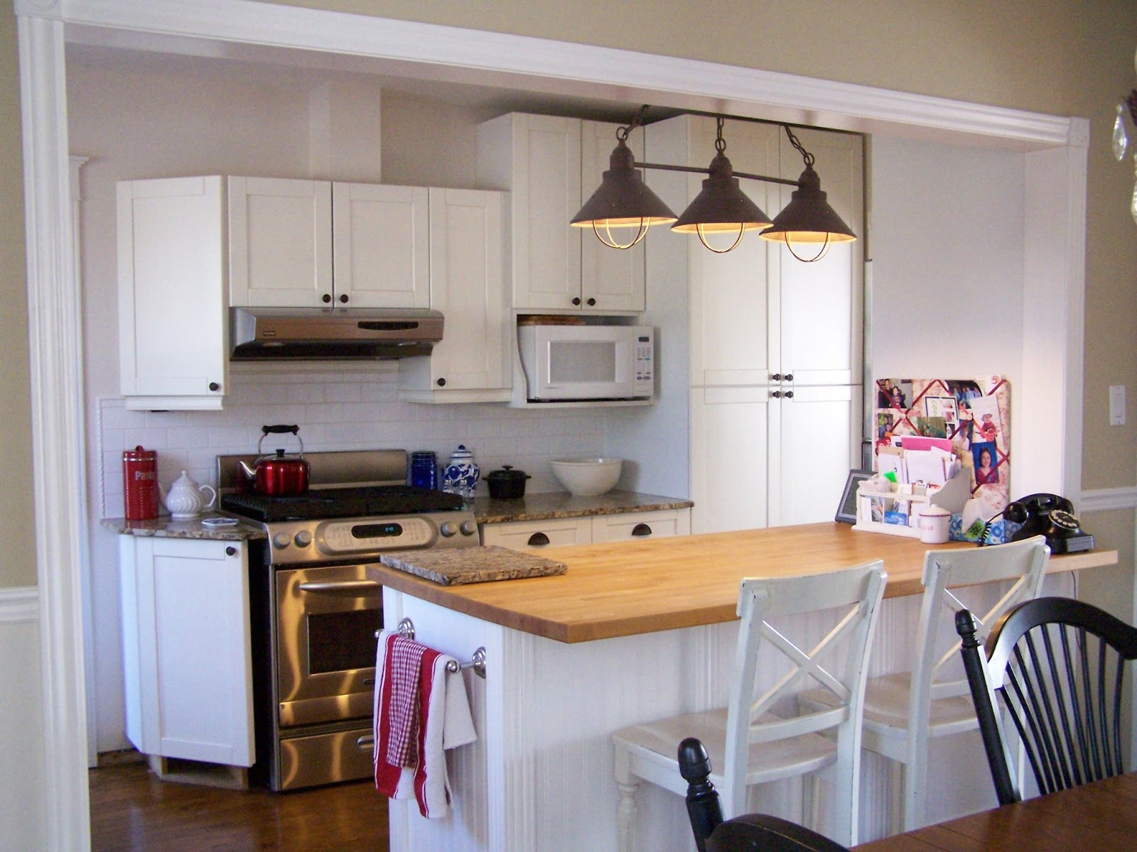 Delorme Designs: KITCHEN LIGHTING REVAMP