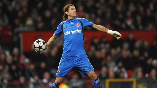 Former Besiktas goalkeeper Rustu Recber is Turkey's most capped player