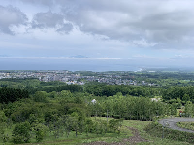 天都山展望台から知床方向