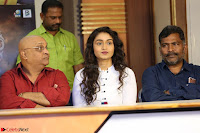 Kiran Chetwani with Janani Iyyer and others at Lakshmi Devi Samarpinchu Nede Chudandi Movie Interview 012.JPG