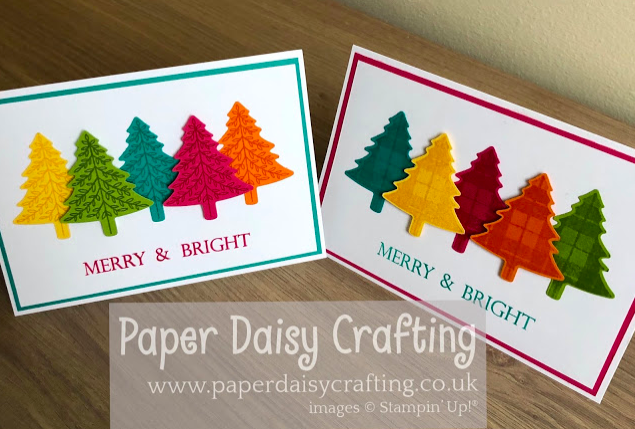Nigezza Creates with Stampin' Up! & Paper Daisy Crafting & Perfectly Plaid