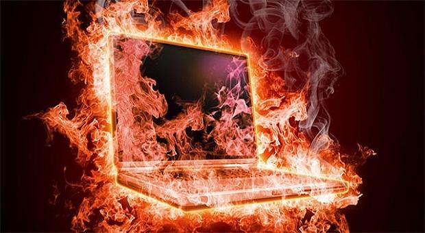 حل مشكل ارتفاع درجة حرارة الحاسوب من اعدادات الويندوز قبل فتح الجهاز