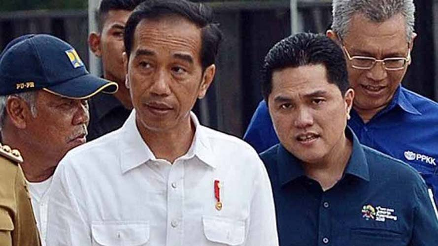 Erick Thohir dan Jokowi
