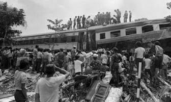 Fakta-fakta Tragedi Kecelakaan Kereta Api Bintaro 1987
