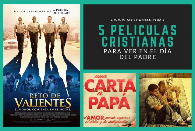 5 Películas cristianas para ver en el Día del Padre