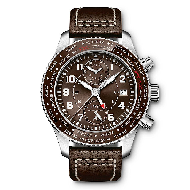 "IWC Pilot's Watch Timezoner Chronograph Edition ""80 Years Flight to New York"" ref. IW395003"