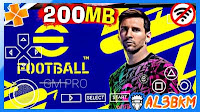 PES 2022 PPSSPP Camera PS5 Android Offline 200MB lite eFootball PES 22 PSP