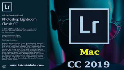 Adobe Photoshop Lightroom Classic CC 2019 Mac